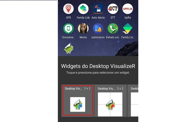Como criar atalho invisível no Android - Passo 2