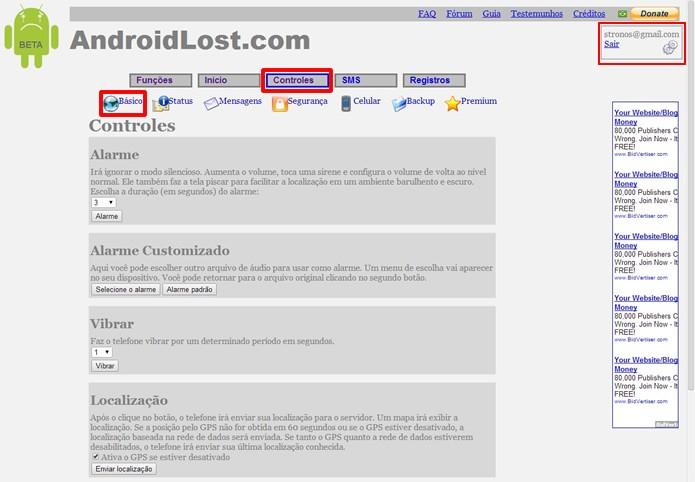 Android Lost - Como usar para localizar e gerenciar celular