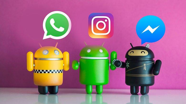 celulares e redes sociais para bateria do Android