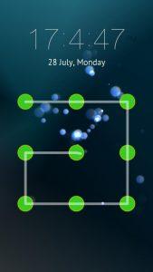 Desenhar padrão de senha no Android