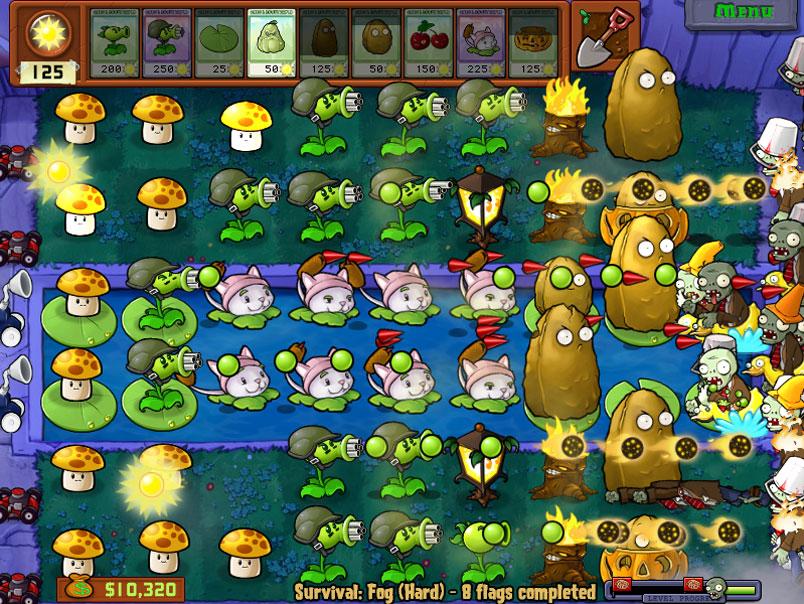 Plants Vs Zombies jogo para Android