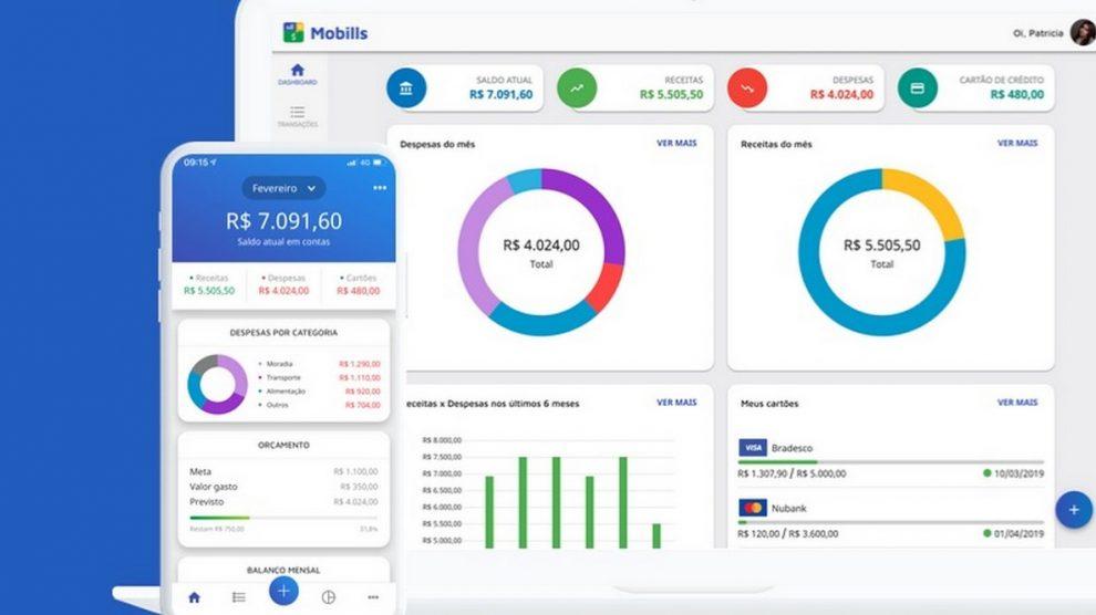 mobills aplicativo de controle financeiro